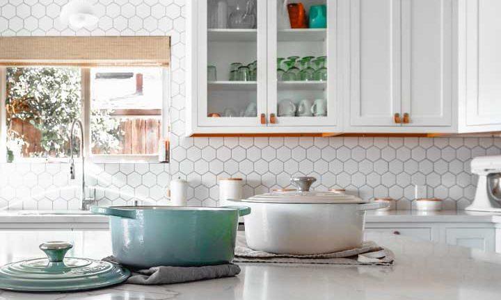 Zum Beispiel sorgen Sie für einen angemessenen Speicherplatz in der Küche